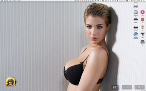 Gemma Atkinson Black Bra by bigrobb