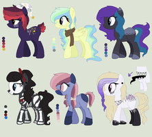 Some set price adopts i guess CLOSED by Rainbow-ninja-adopts