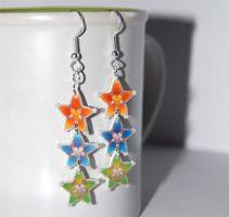 Kingdom Hearts BBS earrings by knil-maloon