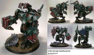 XV88 Broadside with High Yield Missile Pods by Elmo9141