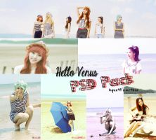 Hello Venus #1 PSD Pack by channijang