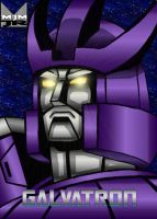Galvatron Portrait by wondermanrules