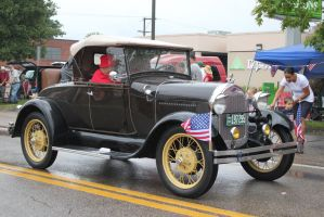 Another Ford - Greenback 4th July parade 2015 by CrystalMarineGallery