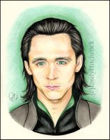 Loki (Tom Hiddleston) by EmilyHitchcock