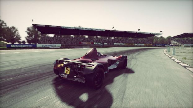 BAC Mono @ Silverstone Classic by ed12342