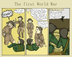 The first World War by Hiutale