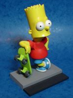 Bart Simpson figurine by Deviblue
