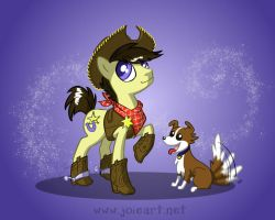 Frontierland (and Critter Country) by JoieArt