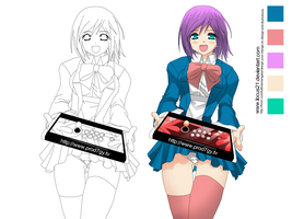 fiverr Girl GIG by locus21