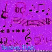 Brushes Music by Forever-editt