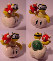 Lakitu Figurine by RRRandomness
