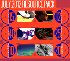 July 2012 Resource Pack by DramaSama
