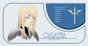 Galatea Claymore Card 2 by niwre-san