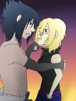 AT.: Wolf-Kunoichi-Kiosho:.~Sunset Lovers~ by Ninja-Burito