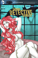 Poison Ivy blank cover by AerianR