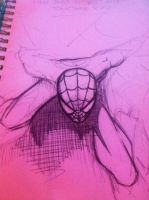 Spidey wip...basic layout by Spoon1004