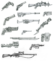 A Lot of Guns by Ravenok