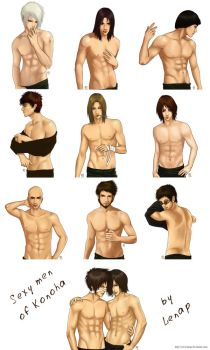all guys by Lenap