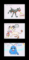 What Does Delphox Say - triple collab by BlueYoukai