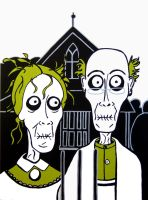 Zombie Gothic by CatAddams