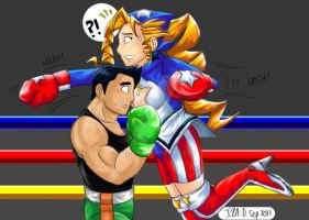 Little Mac Vs. Tiffany Lords by IzIzIza