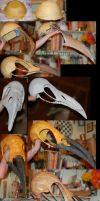 Crow Skull Mask by Jennie-Wolf
