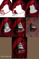 Hooded Vampire Process by Apeanutbutterfiend