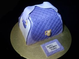 Handbag Cake Shaz by CandyKnickerbocker