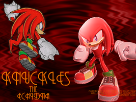 Monthly Wallpaper: Knuckles by fistsh