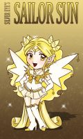 Chibi Sailor Sun to Silvereyes by Isis-M