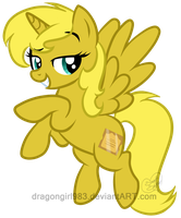Commish: Canon Ticket by DragonGirl983