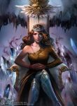 Crystal Crowned (Front Cover) by merillizaART