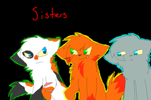 Three sisters by X-CoyoteFeathers-X