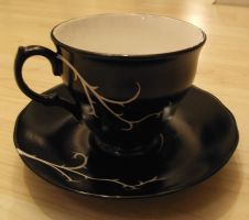 vine tea cup by Thira-Evenstar