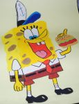 77)Old Spongebob by Magicull-Delesia