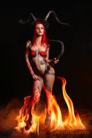 Red Succubus by oldmacman