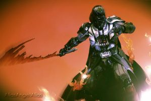 Star Wars Play Arts Kai Darth Vader 03 by aliasangel2005