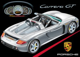 Porsche Carrera GT by exotic-legends