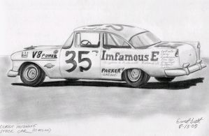 My Classic Stock Car by ImfamousE