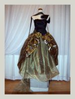 Gold-Black Cosplay Dress by Allada
