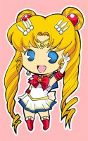 sailor Moon chibi by tachiik