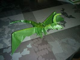 Origami Darkness Dragon by pepel57