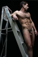 Light Above Ladder Study 69 by Studio4496