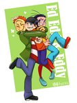 Ed edd and Eddy_Big hug by aulauly7