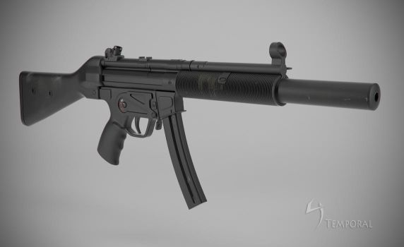 MP5 SD Final (right view) by Temporal333