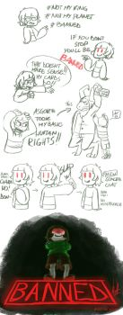 Admin Chara in a Nutshell by SilverSoo