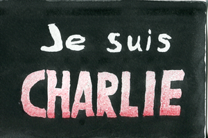 Post card - Je suis Charlie - Postcrossing - 0004 by Summitwulf