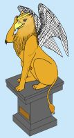The Crowned Griffin by MotleyDreams