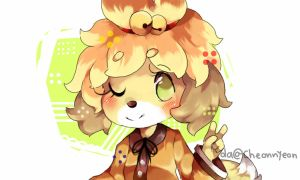 Isabelle ACNL by yioyio