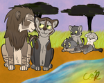 :CO: Lioden Family by RockyGems